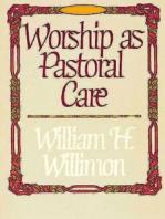 Worship as Pastoral Care