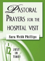 Just in Time! Pastoral Prayers for the Hospital Visit