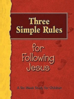 Three Simple Rules for Following Jesus Leader's Guide