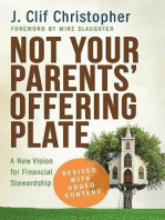 Not Your Parents' Offering Plate