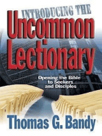 Introducing the Uncommon Lectionary