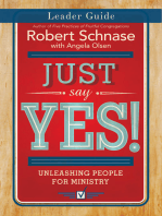 Just Say Yes! Leader Guide