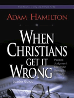 When Christians Get It Wrong Leader Guide