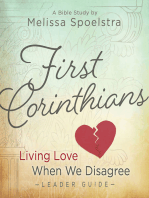 First Corinthians - Women's Bible Study Leader Guide