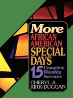 More African American Special Days