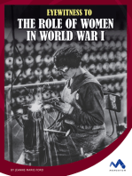 Eyewitness to the Role of Women in World War I