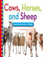 Cows, Horses, and Sheep