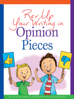Rev Up Your Writing in Opinion Pieces