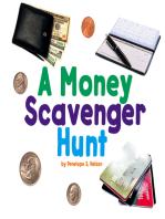 A Money Scavenger Hunt