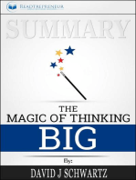 Summary of The Magic of Thinking Big by David J Schwartz