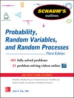 Schaum's Outline of Probability, Random Variables, and Random Processes, 3/E