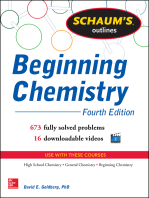 Schaum's Outline of Beginning Chemistry (EBOOK): 673 Solved Problems + 16 Videos