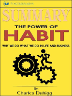 Summary of The Power of Habit