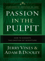 Passion in the Pulpit