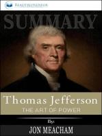 Summary of Thomas Jefferson