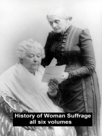 History of Woman Suffrage