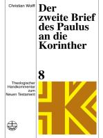 Der zweite Brief des Paulus an die Korinther