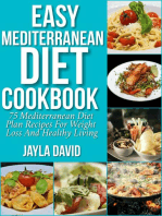 Easy Mediterranean Diet Cookbook