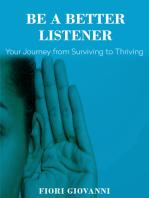 Be a Better Listener