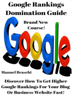Google Rankings Domination Guide