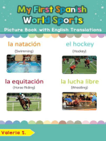 My First Spanish World Sports Picture Book with English Translations