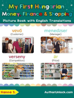 My First Hungarian Money, Finance & Shopping Picture Book with English Translations