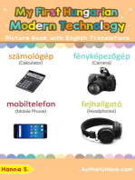 My First Hungarian Modern Technology Picture Book with English Translations