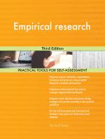 Empirical research Third Edition