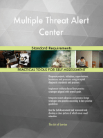 Multiple Threat Alert Center Standard Requirements