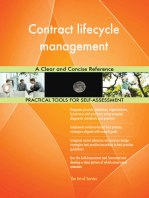 Contract lifecycle management A Clear and Concise Reference