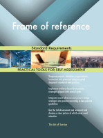 Frame of reference Standard Requirements