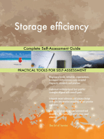 Storage efficiency Complete Self-Assessment Guide