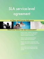 SLA service-level agreement A Clear and Concise Reference