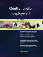 Quality function deployment Third Edition