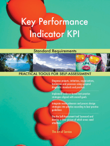 Key Performance Indicator KPI Standard Requirements