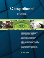 Occupational noise Complete Self-Assessment Guide