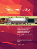 Small unit tactics Complete Self-Assessment Guide