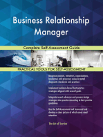 Business Relationship Manager Complete Self-Assessment Guide