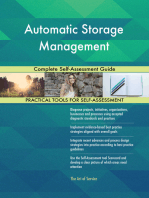 Automatic Storage Management Complete Self-Assessment Guide