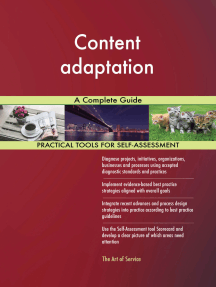 Content adaptation A Complete Guide