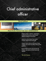 Chief administrative officer Third Edition
