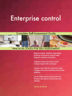 Enterprise control Complete Self-Assessment Guide
