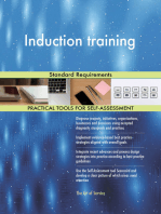 Induction training Standard Requirements