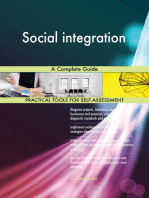 Social integration A Complete Guide