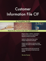 Customer Information File CIF A Complete Guide