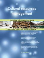 Cultural resources management Complete Self-Assessment Guide