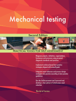 Mechanical testing Second Edition