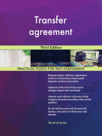 Transfer agreement Third Edition