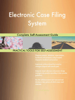 Electronic Case Filing System Complete Self-Assessment Guide