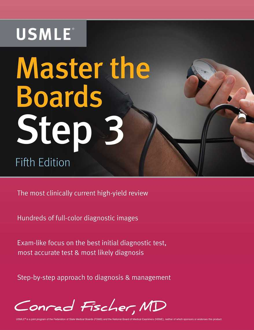 Master the Boards USMLE Step 3 by Conrad Fischer - Read Online
